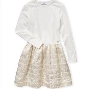 NWT.Roberto Cavalli logo skirt long sleeve dress❤️